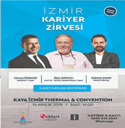 İzmir Kariyer Zirvesi – 15 Aralık 2019