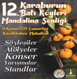 12. Karaburun Batı Köyleri Mandalina Şenliği 2019