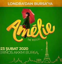 Amelie Müzikali 21 ve 23 Şubat Tarihleri Arasında Bursa'da!
