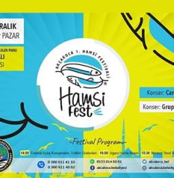 Akçakoca Hamsi Festivali 22 Aralık 2019