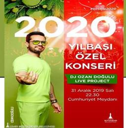 Ozan Doğulu İzmir Yılbaşı Konseri 2020