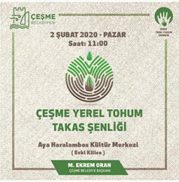 Çeşme Yerel Tohum Takas Şenliği 2020