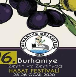 16.Burhaniye Zeytin ve Zeytinyağı Hasat Festivali 2020