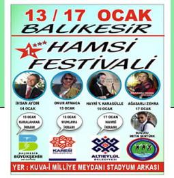 Balıkesir Hamsi Festivali 2020
