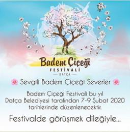 Datça Badem Çiçeği Festivali 7 – 9 Şubat 2020'de Gerçekleşecek!