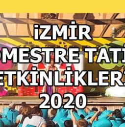 İzmir Sömestr Tatili Çocuk Etkinlikleri 2020