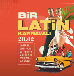 İzmir Karnavalizm, Bir Latin Karnavalı – 28 Şubat 2020