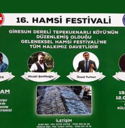 Tuzla Hamsi Festivali 19 Ocak 2020'de!
