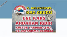 İzmir 5. Geleneksel Kaz Gecesi 2020