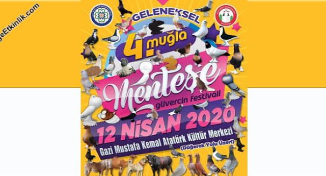 Geleneksel 4. Muğla Menteşe Güvercin Festivali 2020