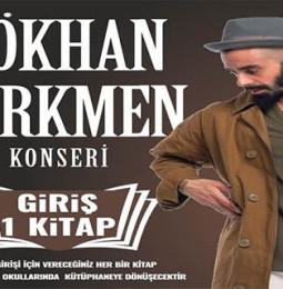 Gökhan Türkmen 6 Mart'ta Isparta'da