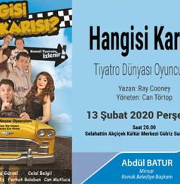 Hangisi Karısı Tiyatro Oyunu 13 Şubat'ta İzmir'de!