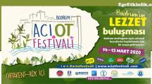 Bodrum Acı Ot Festivali 14 – 15 Mart 2020'de gerçekleşecek!