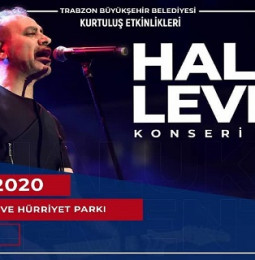 Haluk Levent 24 Şubat'ta Trabzon'da