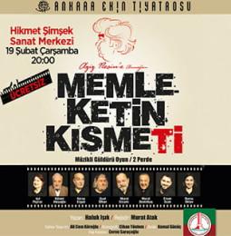 Memleketin Kısmeti Oyunu 19 Şubat'ta Karşıyaka'da!