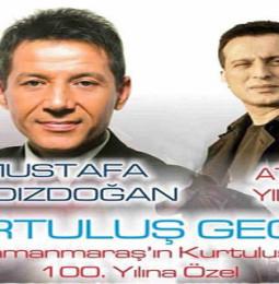 Mustafa Yıldızdoğan ve Atilla Yılmaz 23 Şubat'ta Kahramanmaraş'ta