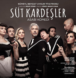 Süt Kardeşler Tiyatro Oyunu İzmir Turnesi 2020