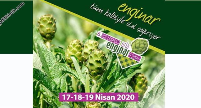 6. Uluslararası Urla Enginar Festivali 2020