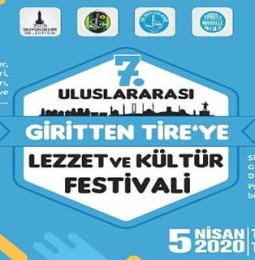 7. Uluslararası Giritten Tire'ye Lezzet ve Kültür Festivali 2020