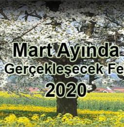 Mart Ayında Ege'de Gerçekleşecek Festivaller 2020
