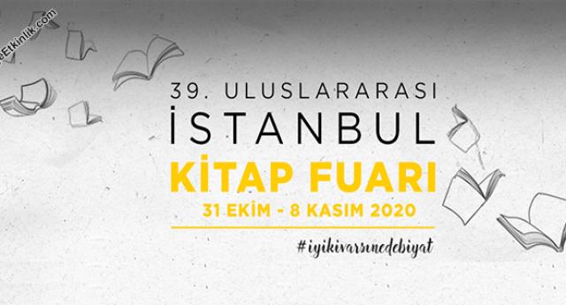 39. İstanbul Kitap Fuarı – 31 Ekim/08 Kasım 2020