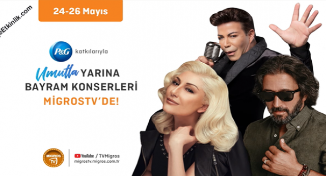 MigrosTV Umutla Yarına Bayram Konserleri