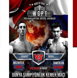 Dünya Kickbox Şampiyonası Kemer Maçı – İzmir 2020