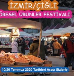 Çiğli'de 10 ve 20 Temmuz Tarihleri Arasında Yöresel Ürünler Festivali Olacak