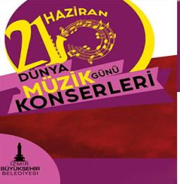 İzmir 21 Haziran Dünya Müzik Günü Konserleri 2020