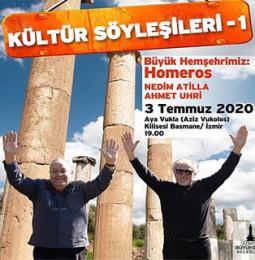 İzmir Kültür Söyleşileri 1 – 03 Temmuz 2020
