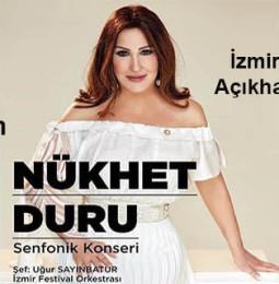 Nükhet Duru, 26 Haziran'da İzmir Kültürpark'ta…
