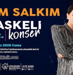Yeşim Salkım Ataşehir Maskeli Konser – 10 Temmuz 2020