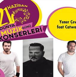 Yener Çevik ve Catwork 21 Haziran'da İzmir'de…