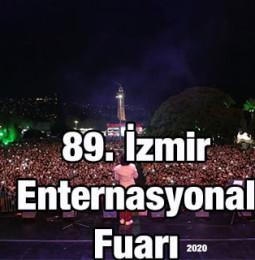 89. İzmir Enternasyonal Fuarı 2020