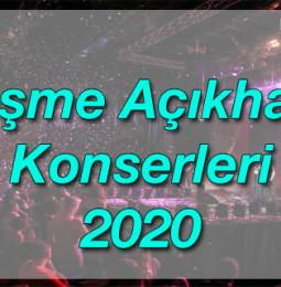 Çeşme Açıkhava Yaz Konserleri 2020