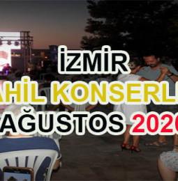 İzmir Sahil Konserleri Ağustos 2020