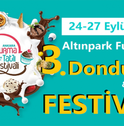 3. Ankara Dondurma ve Tatlı Festivali 2020