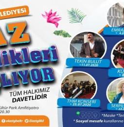 Elazığ Belediyesi Yaz Şenlikleri 2020