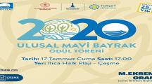 Ilıca Halk Plajı Ulusal Mavi Bayrak Ödül Töreni – 17 Temmuz 2020