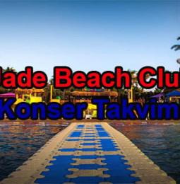 Kuşadası Jade Beach Club Konserleri 2020