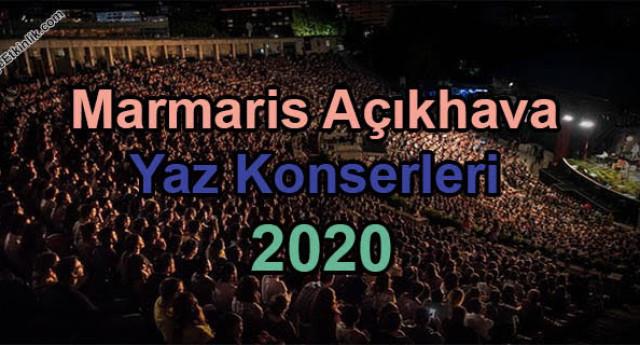Marmaris Açık Hava Yaz Konserleri 2020