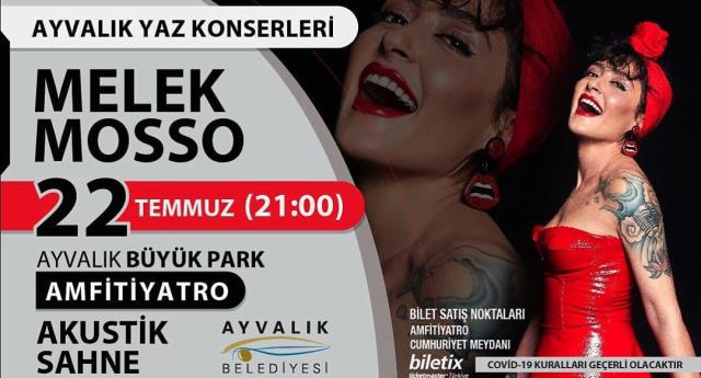 Melek Mosso Ayvalık Konseri – 22 Temmuz 2020