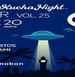 Pecha Kucha Night İzmir Vol.25 – 4 Ağustos 2020