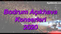 Bodrum Açıkhava Yaz Konserleri 2020