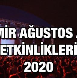 İzmir Ağustos Ayı Etkinlikleri 2020