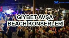 Gıybet Avşa Beach Konserleri 2020