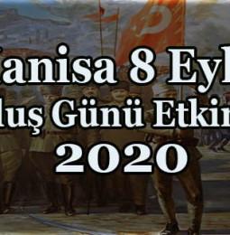 Manisa 8 Eylül Kurtuluş Günü Etkinlikleri 2020
