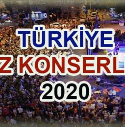 Türkiye Yaz Konserleri 2020