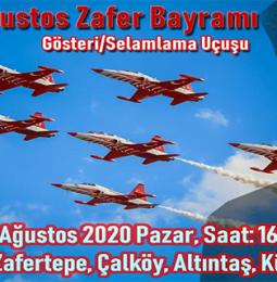 Türk Yıldızları 30 Ağustos Zafer Bayramı Gösteri Uçuşu – 2020
