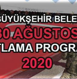 İzmir 30 Ağustos Kutlama Programı 2020